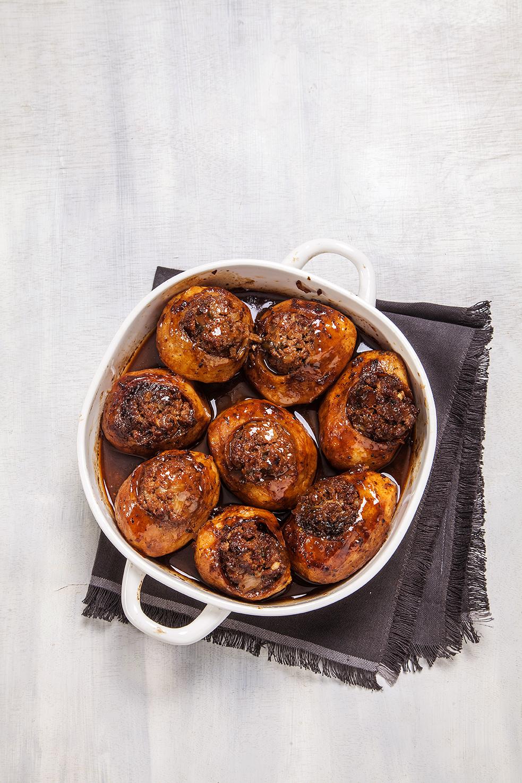 תבשיל תפוחי אדמה ממולאים בבשר | אוכל כשר לפסח